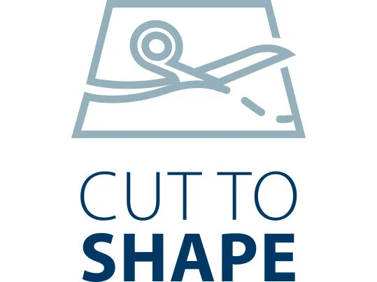 Cut to shape icon