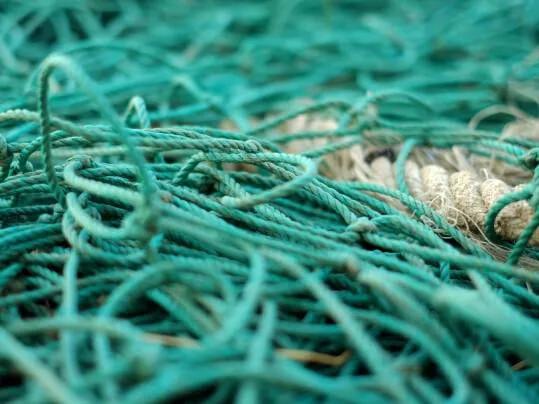 Coral | hergebruik van visnetten