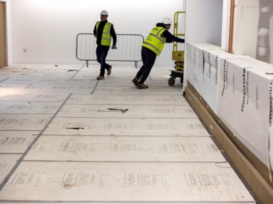Floor protection boards