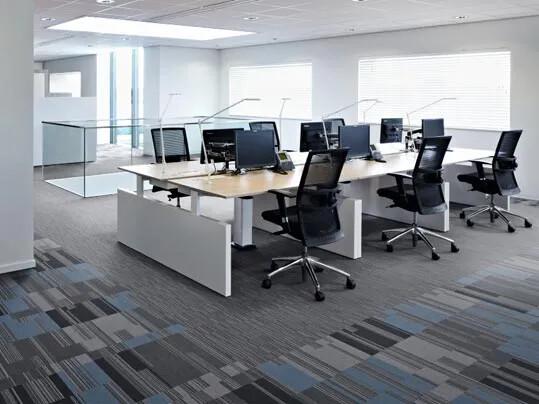 Flotex in Büroumgebungen