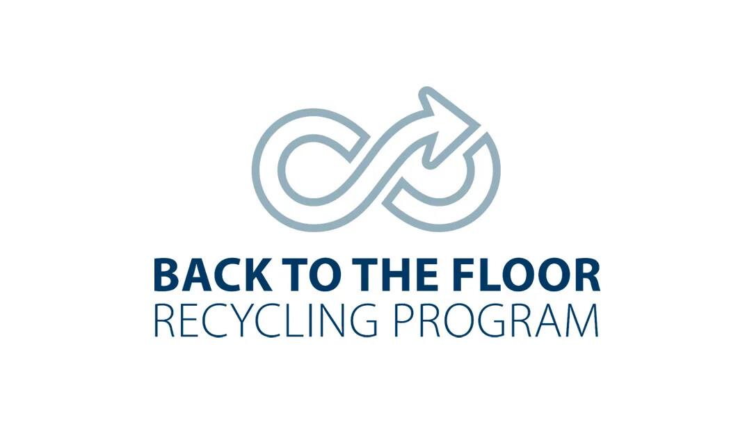 Back to the floor - Forbos återvinningsprogram