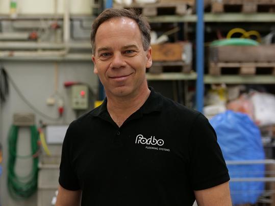 Jonas Rothen, hållbarhetschef Forbo