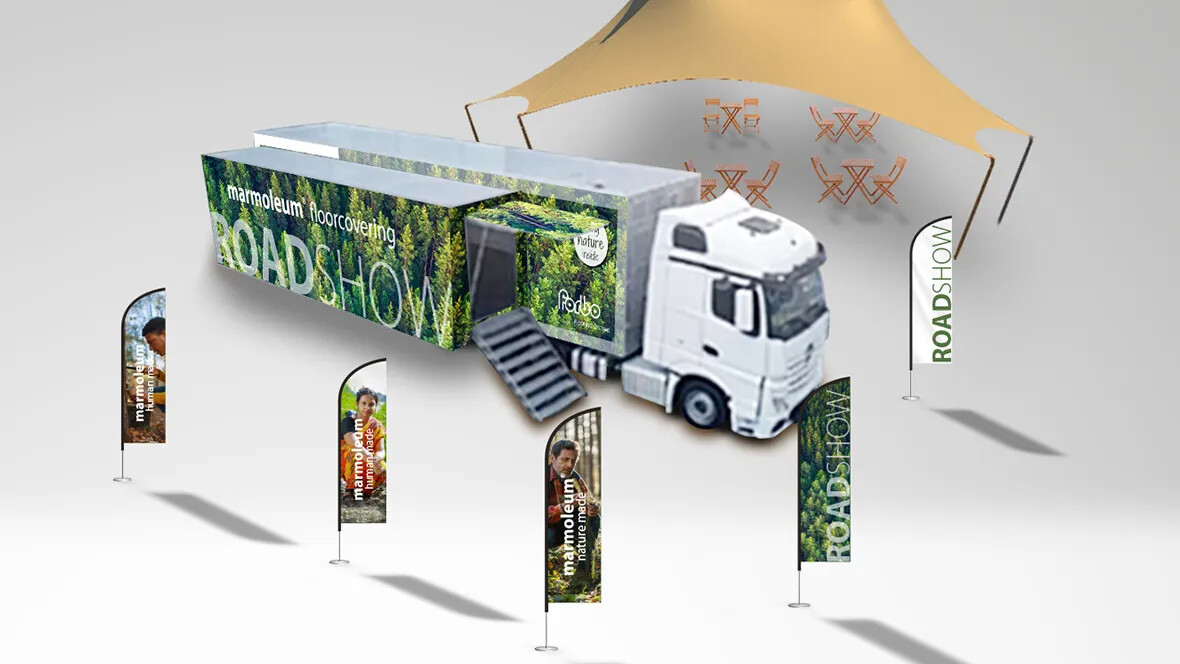 Revêtement de sol linoléum marmoleum roadshow | Forbo Flooring Systems