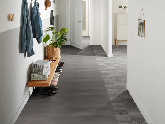 Revêtement de sol PVC carreaux de ciment   Forbo Flooring Systems