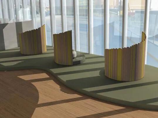 Revêtement de sol Challenge étudiant LISAA | Forbo Flooring Systems