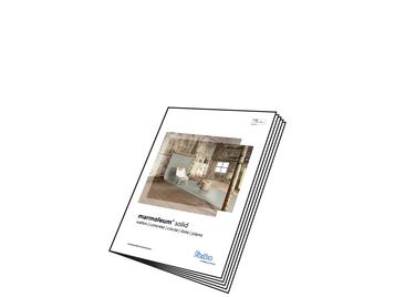 Marmoleum Solid Sample book
