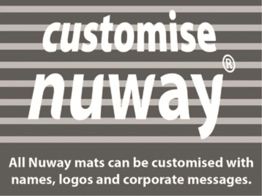 Nuway mats can be customised