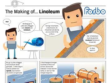The making of Linoleum