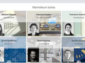 Revêtement de sol Linoléum Marmoleum Stories | Forbo Flooring Systems