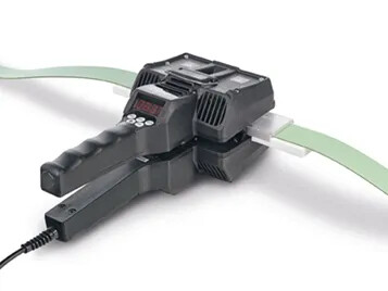 Global innovation – air-cooled heating clamp for fast and efficient splicing of flat belts