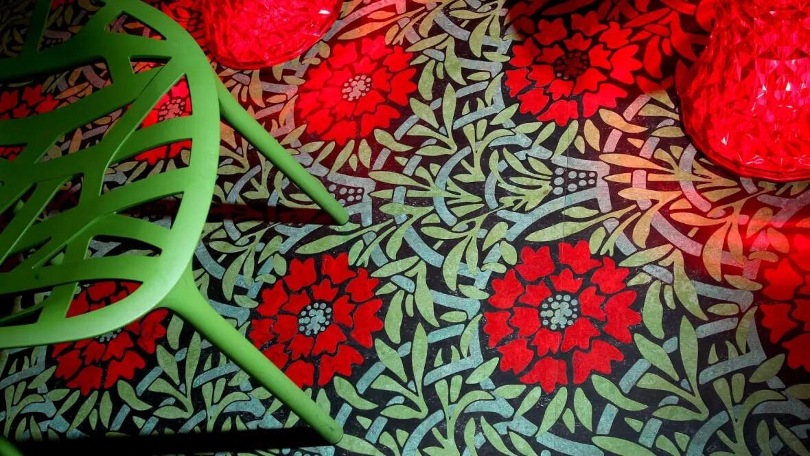 bespoke linoleum flooring - aquajet