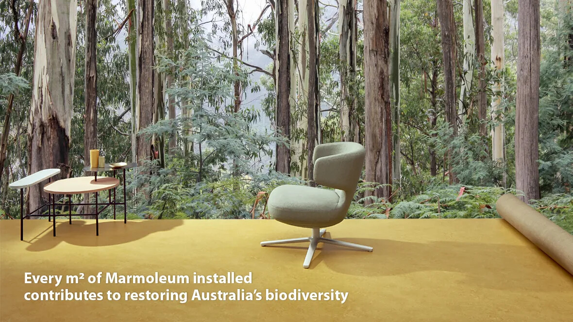 Tree Planting Program with Marmoleum Australia