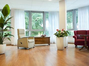 Forbo Bodenbeläge in Wohnbereichen der Altenpflege