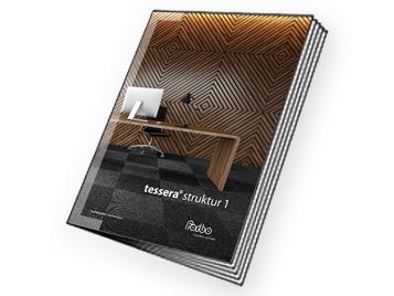 Tessera Struktur 1 Brochure cover