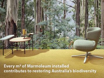 Linoleum the sustainable flooring option