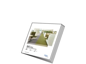 Flotex Colour sample book