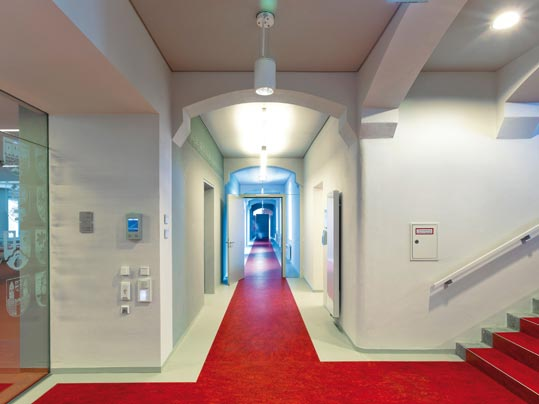 Linoleum in Büro und Verwaltung