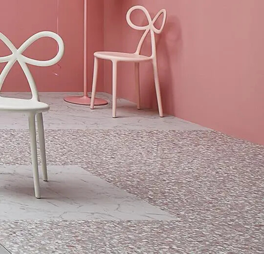 63488DR7 pink terrazzo